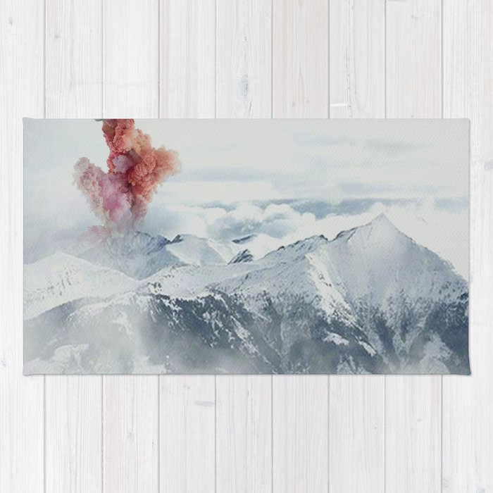 Beautiful Volcano Rug
