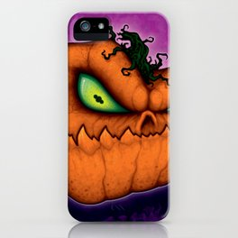 Punkin Head iPhone Case