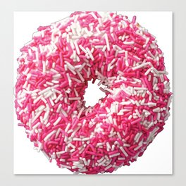 Colored Donut Canvas Print