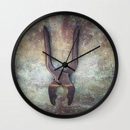 Pliers Wall Clock