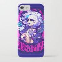 barachan iPhone & iPod Cases featuring adamas by barachan