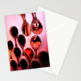I walk and talk in two Stationery Cards