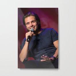 Sebastian Stan   SLCC 2015 Metal Print