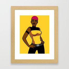 DC Poster Girls - Max Gibson Framed Art Print