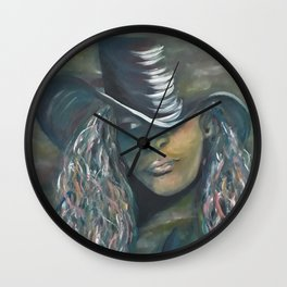 Invisible 2 by Lu Wall Clock