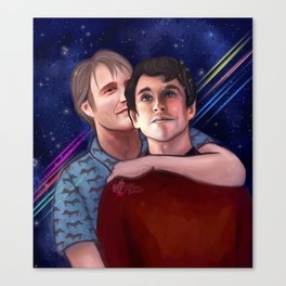 Stargazers Canvas Print