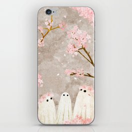 Cherry Blossom Party iPhone Skin