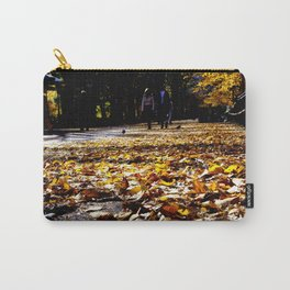Central Park Leaves Carry-All Pouch