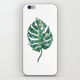 Palm leave iPhone Skin