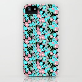 Ditsy Bloom in the night iPhone Case