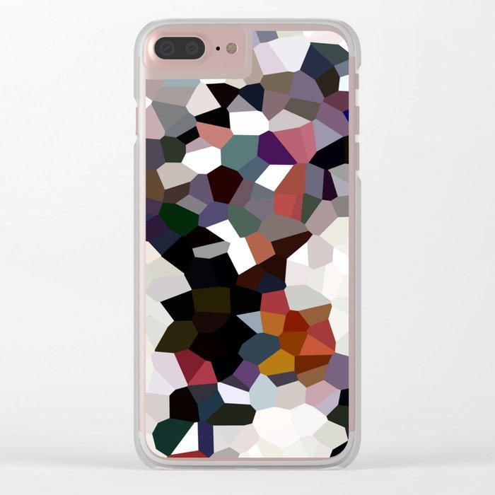 Geometric Anatomy Clear iPhone Case