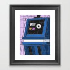 Gonk, Power Deco Driod Framed Art Print