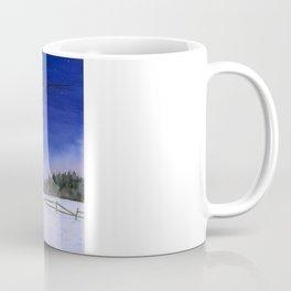 Snowshoeing  Coffee Mug
