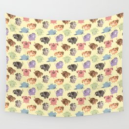 Piggy Party Wall Tapestry