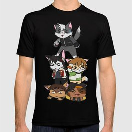 Forming Voltron: Are we doing this correctly? T-shirt