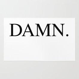 DAMN. Kendrick Lamar Rug