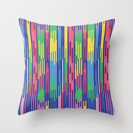 BP 65 Abstract Drips Throw Pillow