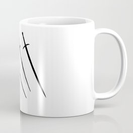 Sword Silhouettes Coffee Mug