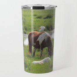 Chincoteague Wildlife Travel Mug