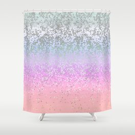 Glitter Star Dust G251 Shower Curtain