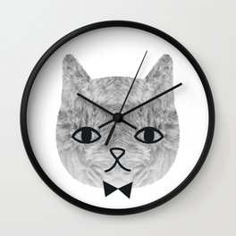 The sweetest cat Wall Clock