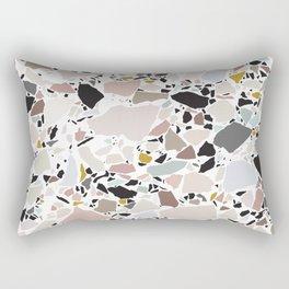 Terrazzo Pattern II. Rectangular Pillow