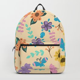 Blue Butterflies Backpack