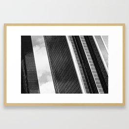 LA Daze - Los Angeles Skyline Series 1 Framed Art Print