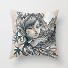 Nao-Ki Throw Pillow