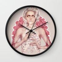 milk Wall Clocks featuring Milk by jasric