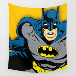 Bat man comic Wall Tapestry