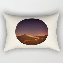 Desert Sunset & Stars In The Sky Rectangular Pillow