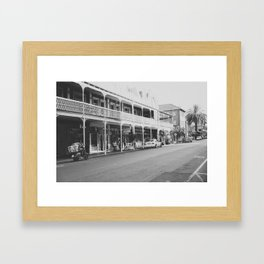Streets of Cape Town Framed Art Print