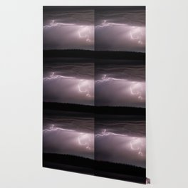 Summer Lightning Storm On The Prairie VI - Nature Landscape Wallpaper