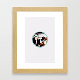 Best Friends - Twin Peaks Framed Art Print