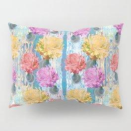 Trio of Peonies - Summer Pastels Pillow Sham