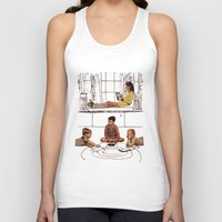 moonrise kingdom Tank Tops featuring moonrise kingdom by sharon