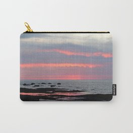 Texture Filled Clouds Carry-All Pouch