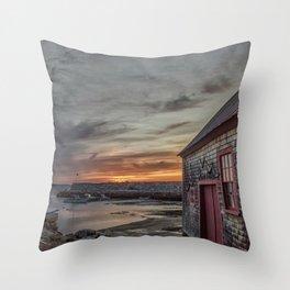Lanes cove Sunset 5-5-18 Throw Pillow
