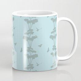 Birds And The Giant Tree - Blue/Gray Coffee Mug