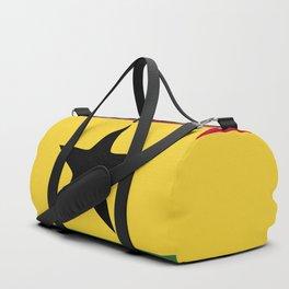 Ghana flag emblem Duffle Bag
