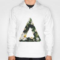 bastille Hoodies featuring Bastille floral logo triangle  by Van de nacht
