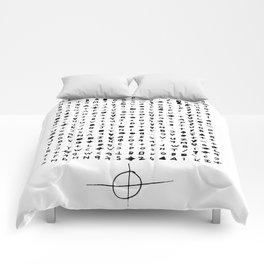 Zodiac killer Comforters