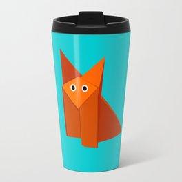 Cute Origami Fox Travel Mug