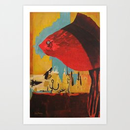 The Fish Art Print