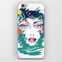 make up iPhone & iPod Skins featuring Make Up by Irmak Akcadogan