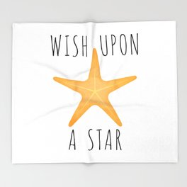 Wish Upon A Star Throw Blanket