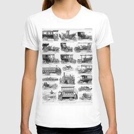 Vintage Automobiles T-shirt