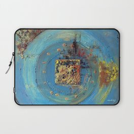 Of the Earth 4 by Nadia J Art Laptop Sleeve