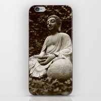 buddha iPhone & iPod Skins featuring Buddha by Falko Follert Art-FF77